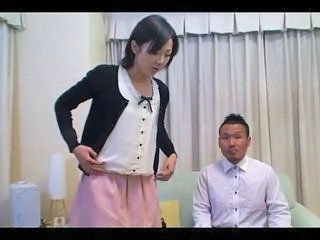 tomomi shimazaki be hung up on in front of husband (uncensored)