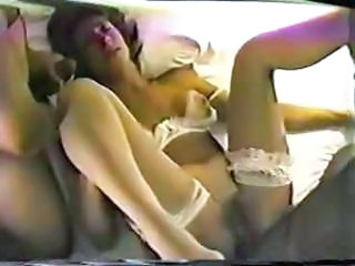 Amateur Homemade Interracial MILF Threesome Wife