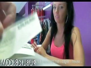 Amateur Cash European Public Teen