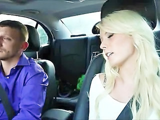 Babysitter Blonde Car Teen