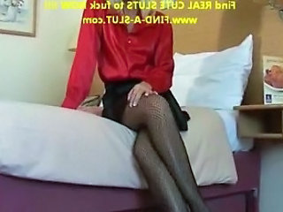 Slutty Prostitute In A Hotel Room