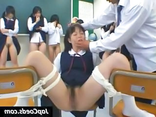 Asian School Skirt Spanking Teacher Teen