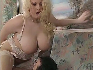 BBW Big Tits British Lingerie MILF Natural Pornstar Stockings