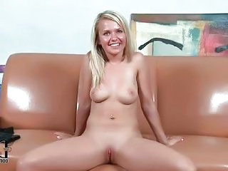 Blonde Shaved Tattoo Teen