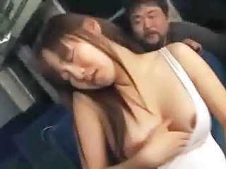 Asian Bus Japanese Public School Teen