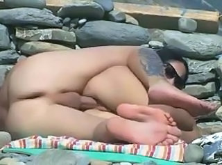 Beach Girlfriend Nudist Outdoor Voyeur