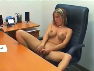 MILF Office Secretary Silicone Tits