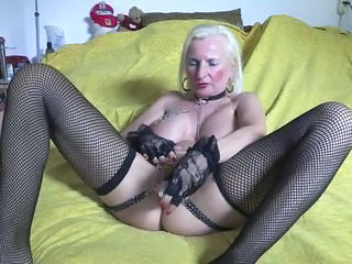 Granny Piercing Stockings