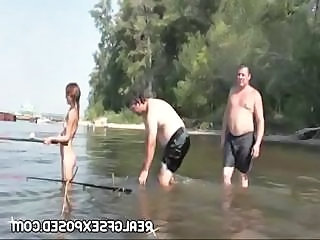 Amateur Nudist Outdoor Public Russian Teen