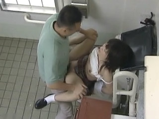 Asian Public Teen Toilet