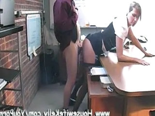 Amateur Clothed Doggystyle MILF Office Secretary