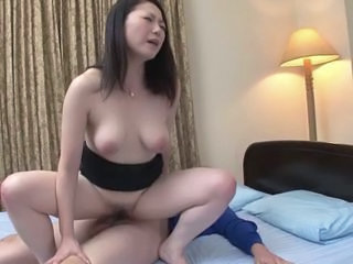 Asian Japanese Mature Riding SaggyTits