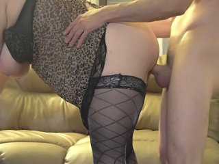 Amateur BBW Doggystyle MILF SaggyTits Stockings