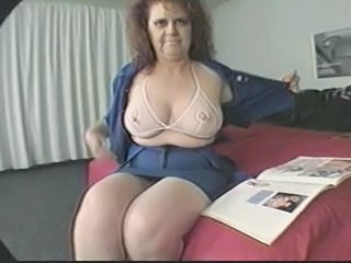 BBW Big Tits Mature Natural Stripper
