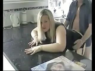 Amateur Chubby Doggystyle Homemade Kitchen MILF Wife
