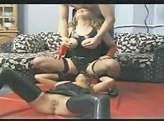 European Facesitting German Latex Threesome Vintage