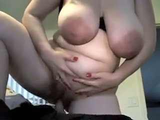 Amateur BBW Big Tits Homemade Natural Riding SaggyTits Wife