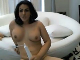Masturbating MILF Solo Toy Turkish Webcam