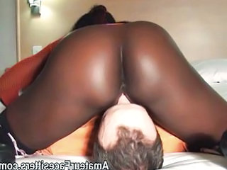 Ass Ebony Facesitting Femdom Interracial Licking