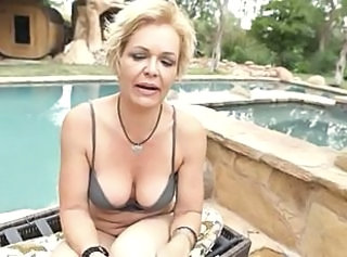 Exploitive MILF Kelly fucking younger guy