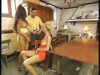 European German MILF Threesome Vintage