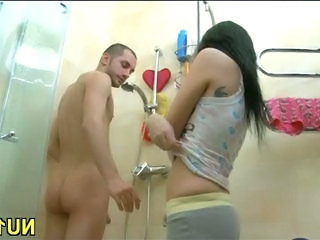 Russian Showers Sister Stripper Teen