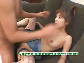 Asian Chinese Fishnet Hardcore MILF
