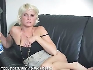 Blonde MILF Solo Stripper