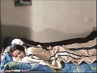 Amateur Cute Homemade Sleeping Teen