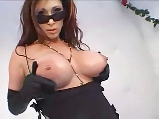 Amazing Big Tits MILF Nipples Piercing