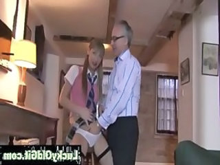Daddy Old and Young Panty Student Teacher Teen Uniform