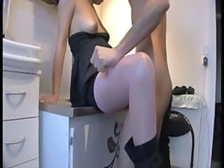 Amateur Homemade Pantyhose