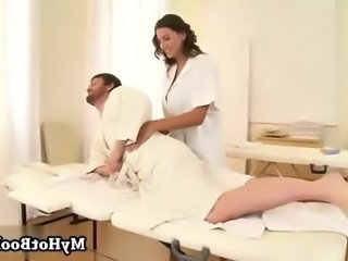 Sensual Jane is a sissified masseuse who is fucking
