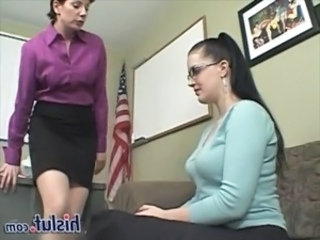 Glasses Lesbian Mature Old and Young