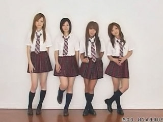 Asian Japanese Student Teen Uniform