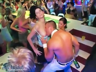Dancing Drunk Party Public Teen