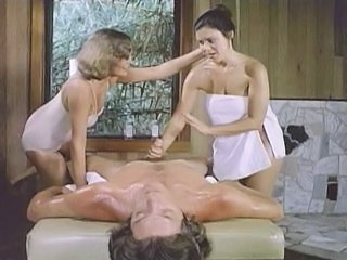Handjob Massage MILF Threesome Vintage