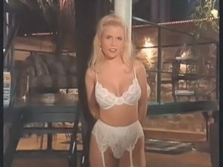 Amazing Big Tits Blonde German Lingerie MILF Vintage