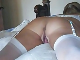 Amateur Cute Homemade Mature Pussy Stockings