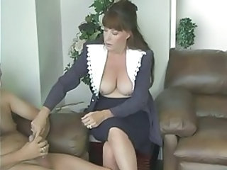 CFNM Handjob Mature Small cock