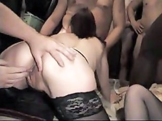 Blowjob Close up Gangbang Mature