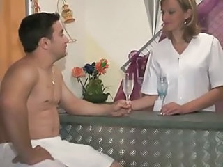 Drunk Massage MILF