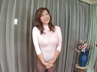 Asian Japanese MILF Pantyhose