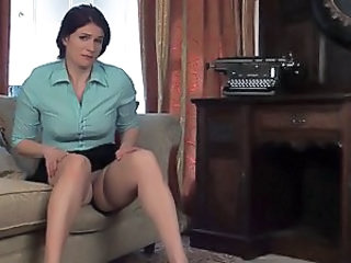 MILF Stockings Upskirt
