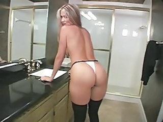 Ass Bathroom MILF Mom Panty