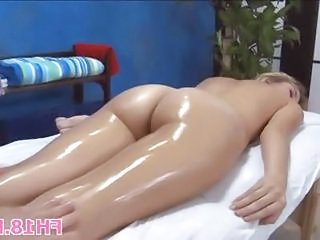 Ass Cute Massage Oiled Teen