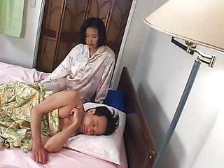 Asian Sleeping Wife