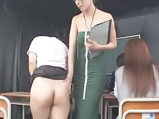 Asian Japanese Lesbian MILF School Student Teacher
