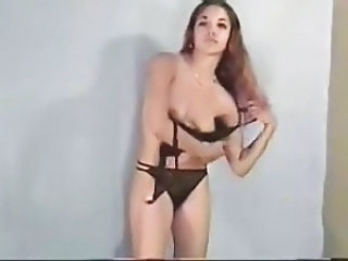 Amateur Lingerie Stripper Teen
