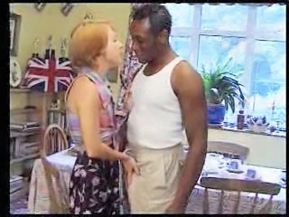 Europeisk Interracial MILF Vintage
